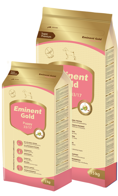 EMINENT GOLD dog Puppy 2 kg