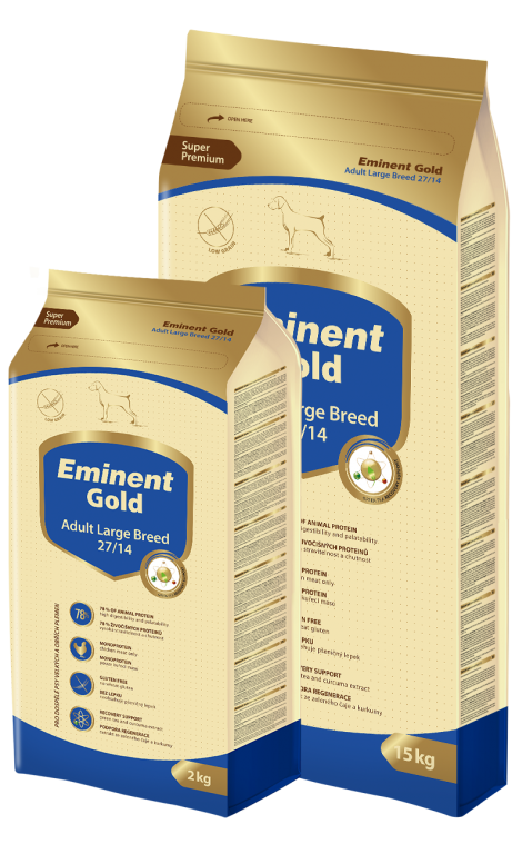 EMINENT GOLD dog Adult Large Breed 2 Kg