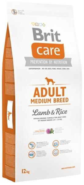 BRIT Care dog Adult Medium Breed Lamb & Rice 3 kg