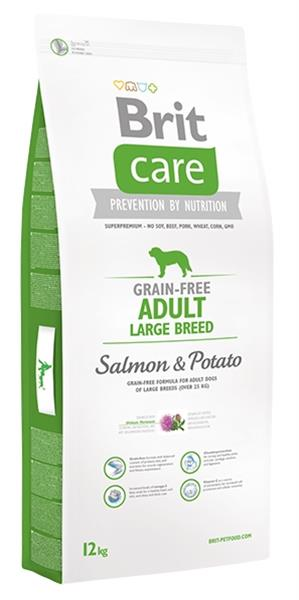 BRIT Care Grain free Adult Large Breed Salmon & Potato 3 kg