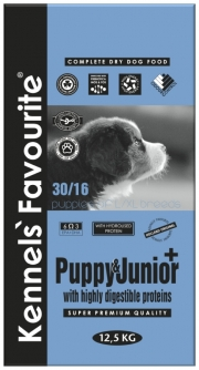 Kennel's Favourite Puppy & Junior Plus 12,5 kg