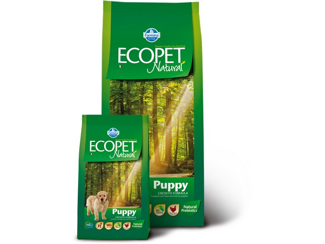 ECOPET N dog puppy medium 12 kg + 2 kg + DOPRAVA ZDARMA