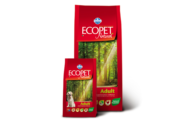 ECOPET N dog adult mini 12 kg + 2 kg ZDARMA