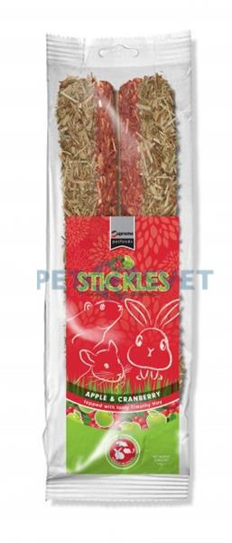 Pamlsok SUPREME hlodavce Stickle Apple & Cranberry ZB 100g