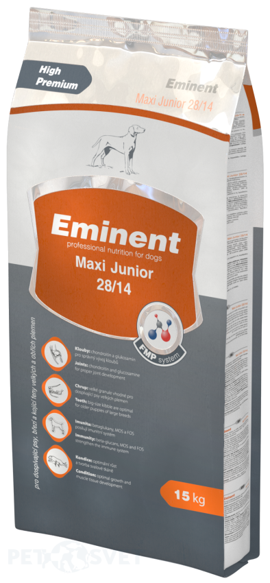 EMINENT dog Maxi Junior 15 kg