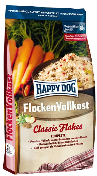 Happy Dog Flocken Vollkost 10 kg