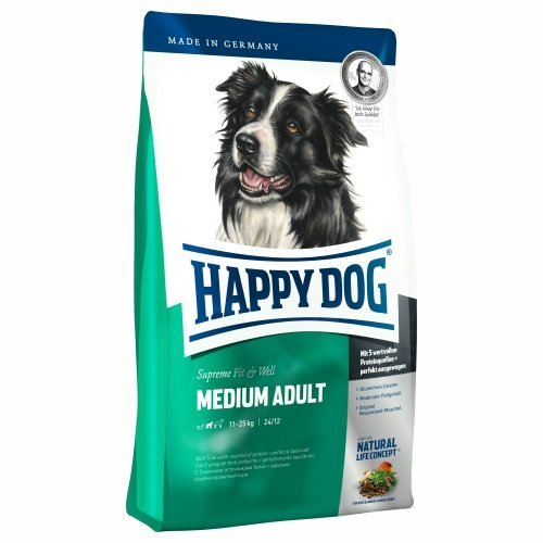 Happy dog supreme Fit & Well adult medium 4 kg