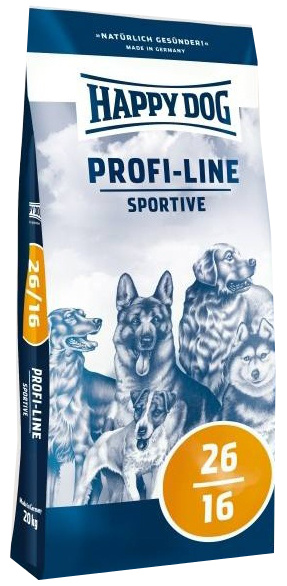 Happy Dog Profi-Line 26/16 Sportive 20kg