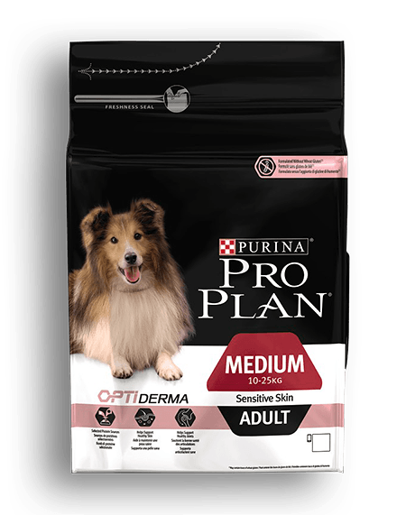 ProPlan Dog Opti Derma Adult Medium Sensitive Skin 14 kg