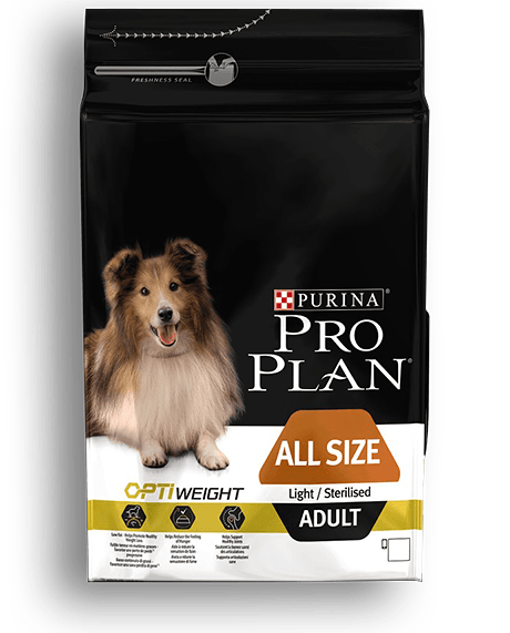 ProPlan Dog Opti Weight Adult All Size Light/Sterilised 14 kg