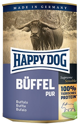 Happy Dog konzerva Büffel pur 200g