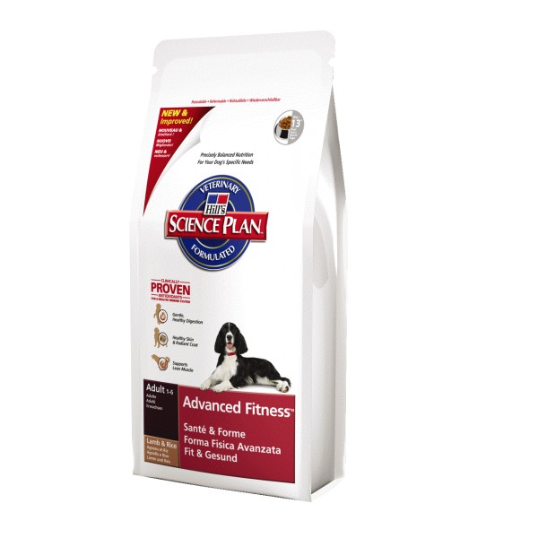 Hill's Canine Adult advanced fitness Lamb & Rice 3 kg