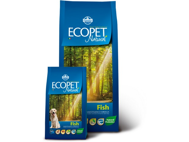 ECOPET N dog fish medium 2,5 kg