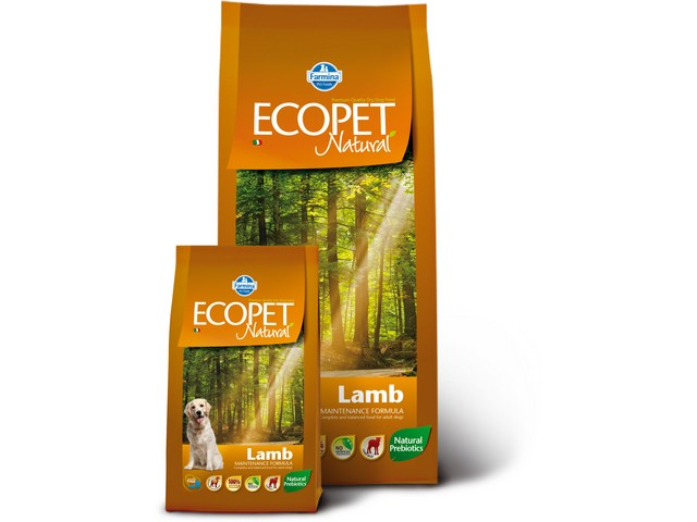 ECOPET N dog lamb medium 2,5 kg