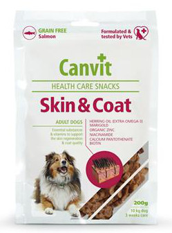 Canvit Health Care Skin & Coat Snack 200 g