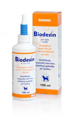 Biodexin ušné lotio sol. 100 ml