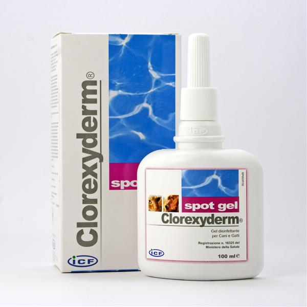 Clorexyderm spot gel 100 ml