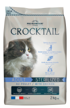 Flatazor Crocktail adult sterilised with chicken 10 kg