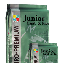 EURO-PREMIUM Puppy medium Lamb&Rice 12 kg