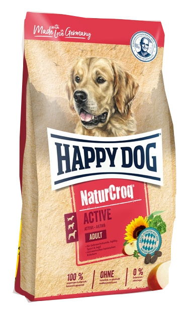 Happy Dog NaturCroq Active 15 Kg + DOPRAVA ZDARMA