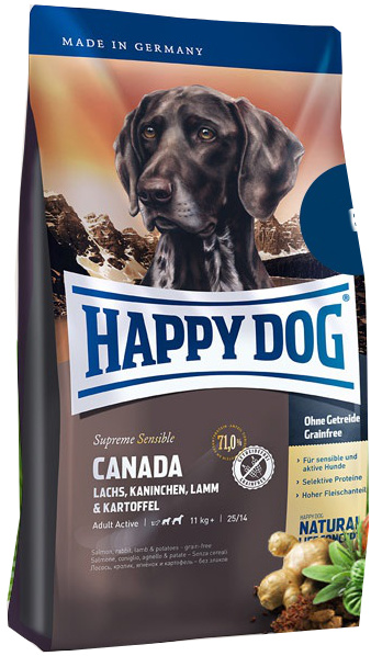 Happy Dog Supreme Sensible Canada 12,5 Kg + DOPRAVA ZDARMA