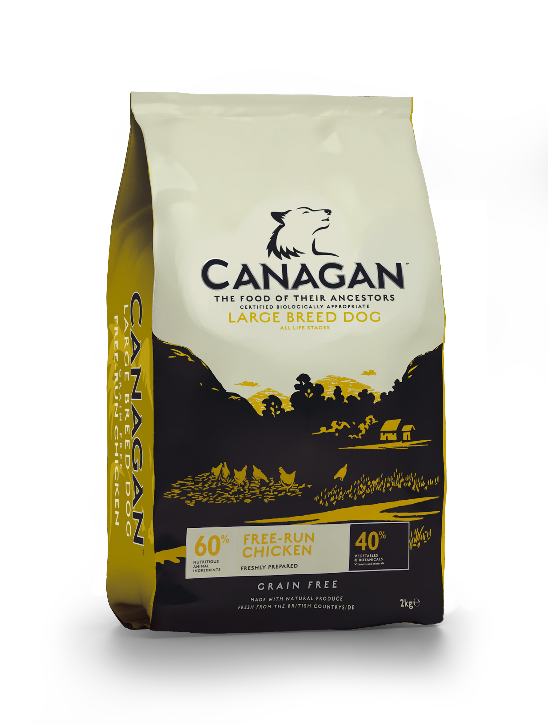CANAGAN Large Breed Free-Run Chicken 2 kg