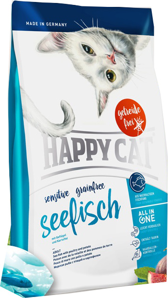 Happy Cat Sensitive Grainfree Seefisch 4 kg