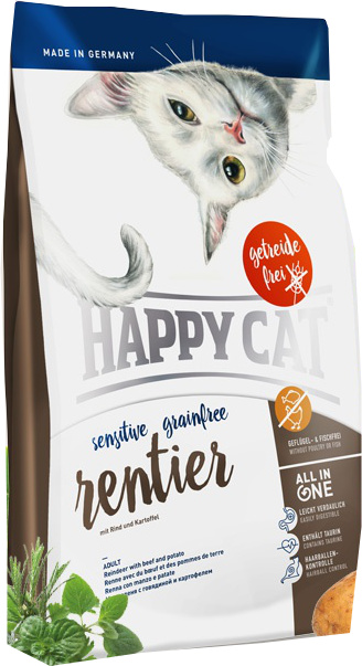 Happy Cat Sensitive Grainfree Sob 4 kg