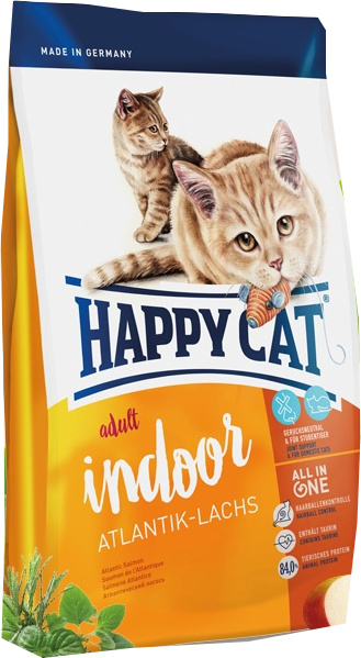 Happy Cat Indoor Atlantický losos 10 kg