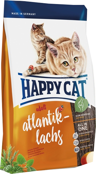 Happy Cat Atlantický losos 10 kg
