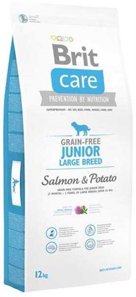 BRIT Care Grain free Junior Large Breed Salmon & Potato 12 kg