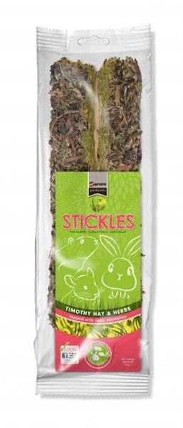 Pamlsok SUPREME hlodavce Stickle Timothy Hay & Herbs ZB 100g