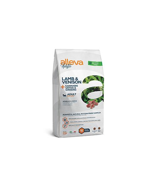 Alleva HOLISTIC dog lamb & venison adult mini 2 kg