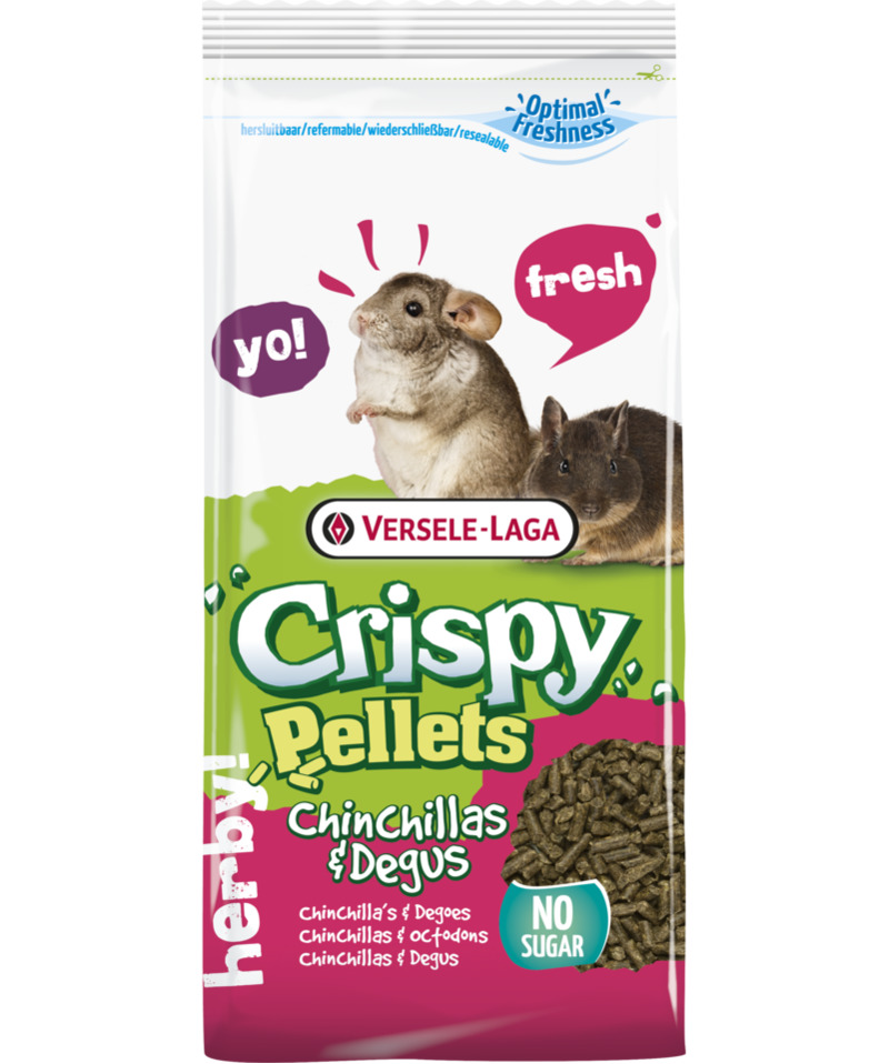 Versele Laga Crispy Pellets Chinchillas & Degus 1 kg