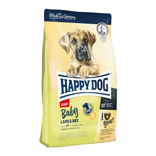 Happy Dog Baby Giant Lamb & Rice 15 + DOPRAVA ZDARMA