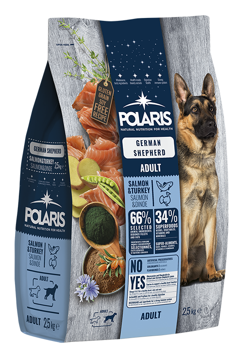 Polaris dog Adult German Shepherd Salmon & Turkey 12 kg