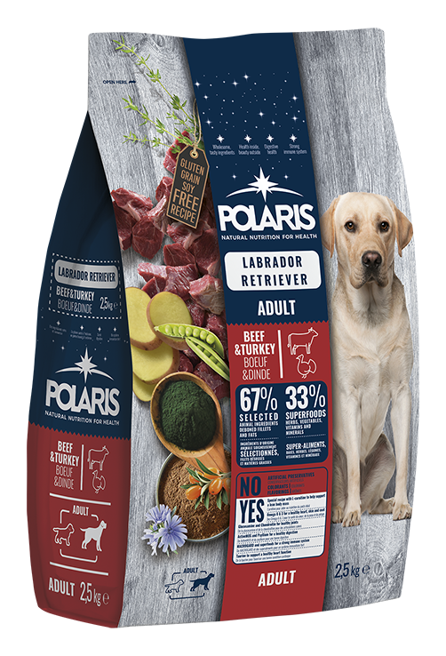 Polaris dog Adult Labrador Beef & Turkey 12 kg