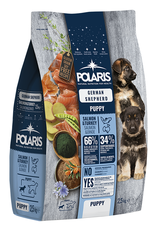 Polaris dog Puppy German Shepherd Salmon & Turkey 2,5 kg