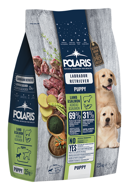 Polaris dog Puppy Labrador Lamb & Salmon 2,5 kg